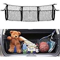 AUTOAC Truck Bed Nets for Truck Cargo Net Trunk Stretchable 3 Pocket Bed Organizer