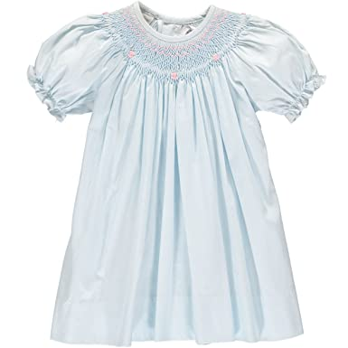 280d0777e Amazon.com  Carriage Boutique Baby Girl Classic Hand Smocked Bishop ...