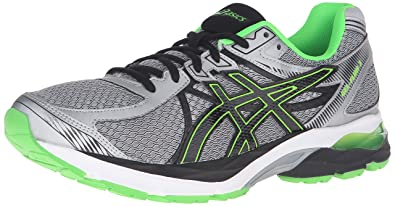 7a8b3930ed ASICS Men's Gel-Flux 3 Running Shoe, Lightning/Black/Green Gecko, 9 ...