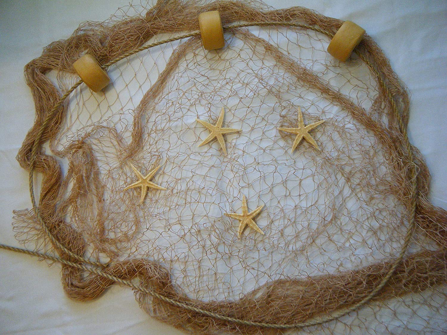 10 X 9 Fishing Net Fish Net Netting Rope Starfish Floats Nautical Decor