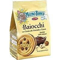 Mulino Bianco Biscotti Baiocchi con Crema alla Nocciola e Cacao - 260 gr