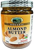 New World Foods Almond Butter, Smooth Roasted Organic 500g