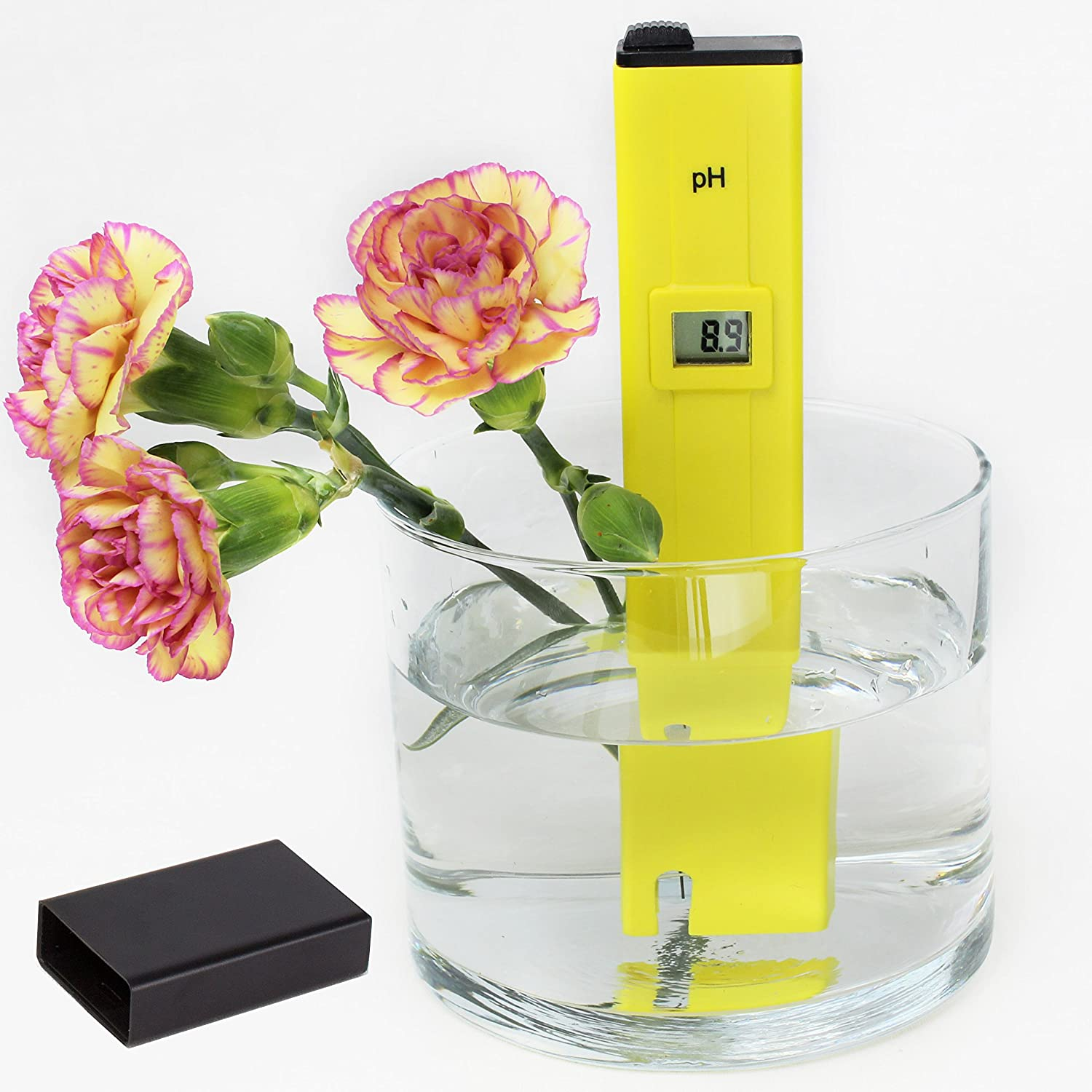 Digital PH Meter Tester Pen by Kiartten: This Waterproof pH Meter Does Far More Than Just Test Water! This Auto Pen Tester May Be Used For Water, Hydroponics, Pools, Spas and Other Water Based Applications. It's Also Perfect for Wines, Urine Testing &