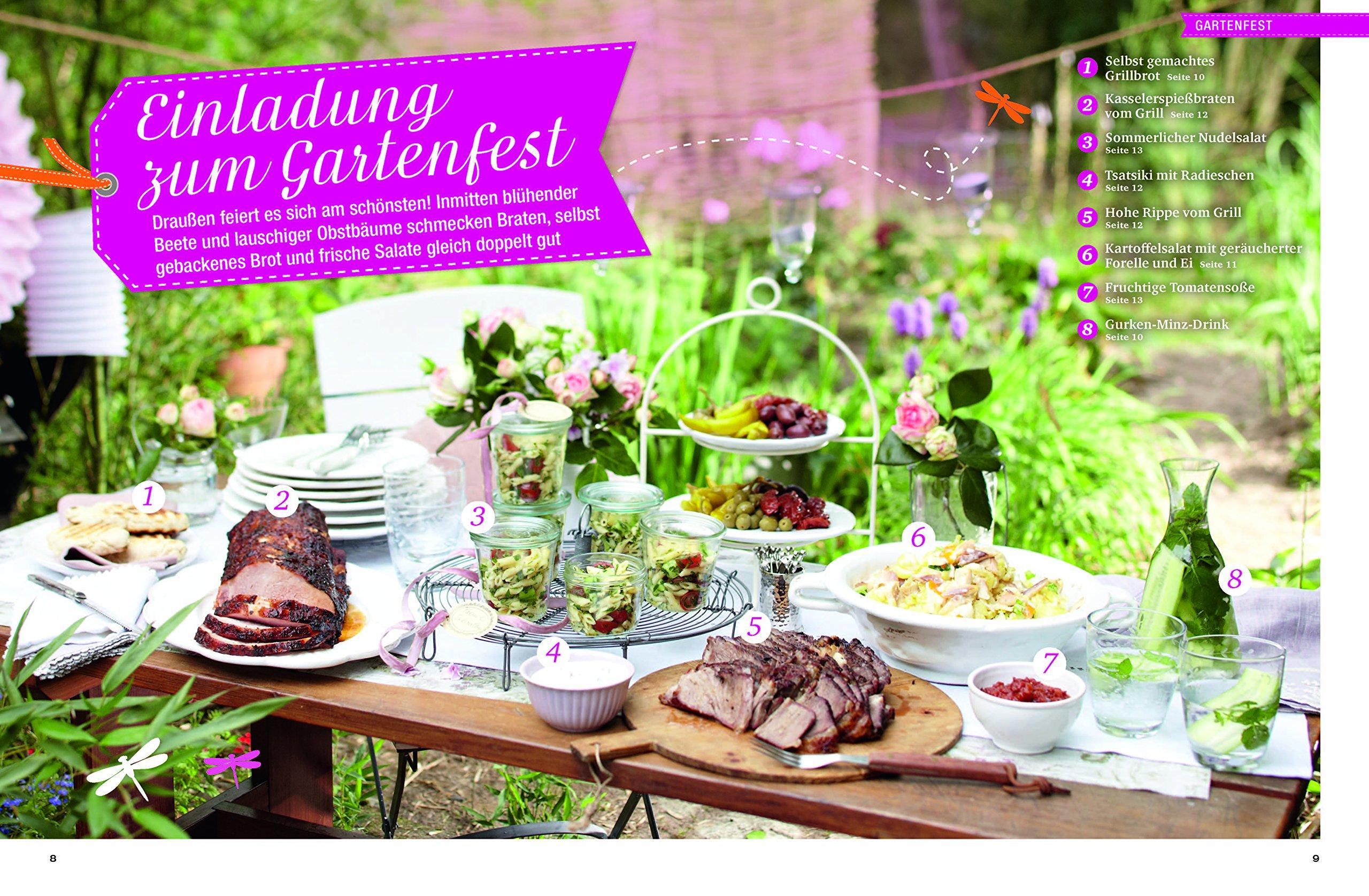 Sommerküche Kochen Und Genießen : Kochen genießen sommerküche grillen picknick gartenfest und
