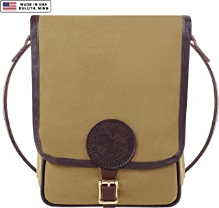 product image for Duluth Pack Leather Trim Haversack (Khaki)