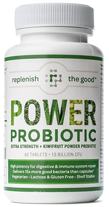 ab449bef56 Amazon.com  Power Probiotic Extra Strength Probiotics for Men and ...