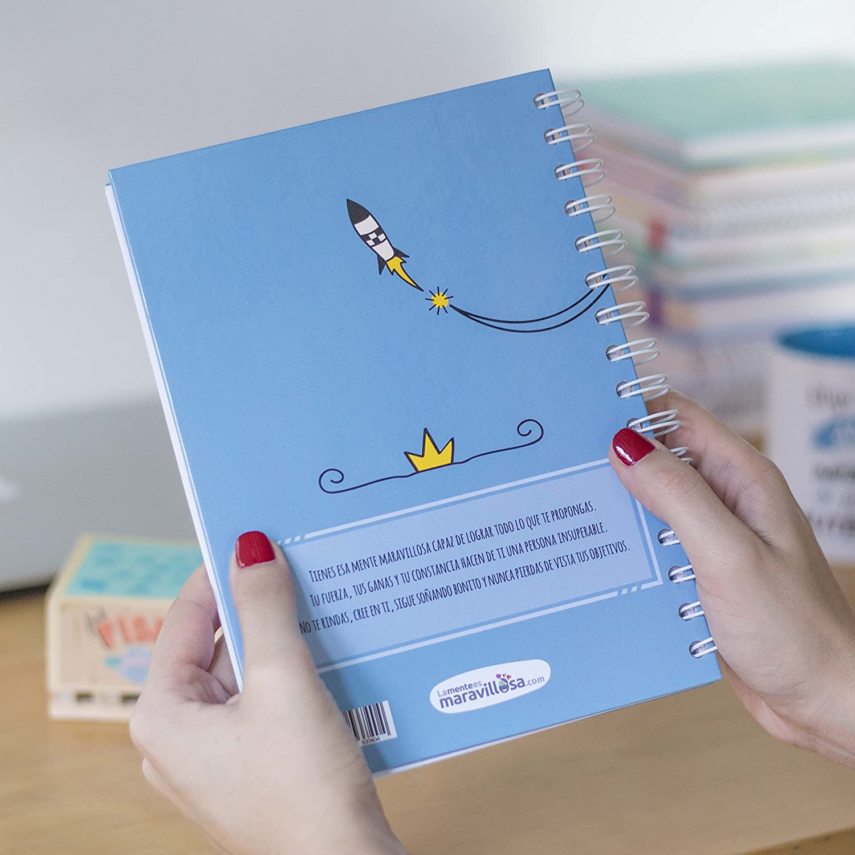 La Mente es Maravillosa Regalo practico con dibujos graciosos Dise/ño Cree en ti Cree en ti, sabes que eres insuperable Cuaderno A4