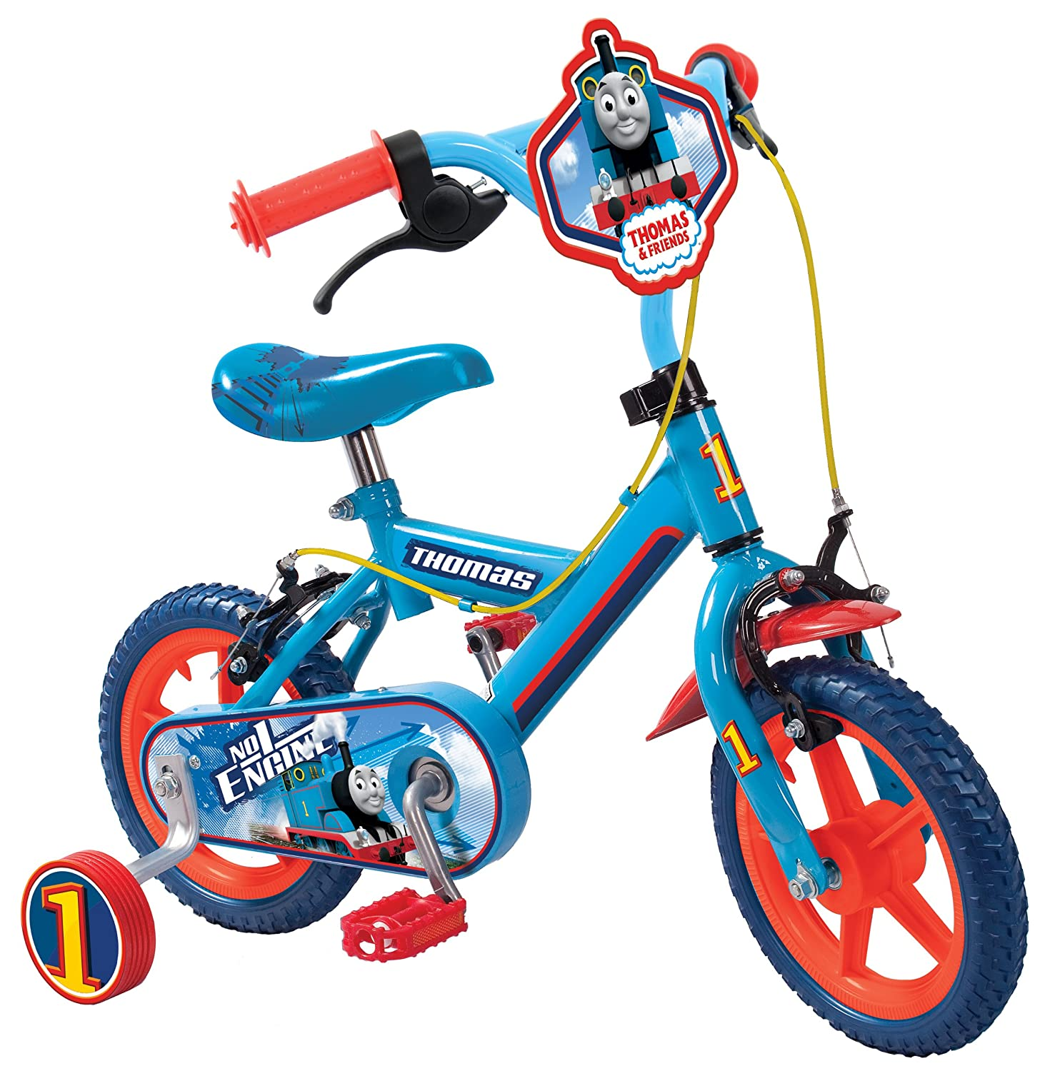 Thomas & Friends Bike – ブルー、12インチ B00J7QHZVA