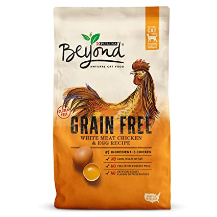 Amazon purina beyond grain free white meat chicken egg purina beyond grain free white meat chicken egg recipe adult dry cat food 3 forumfinder Image collections