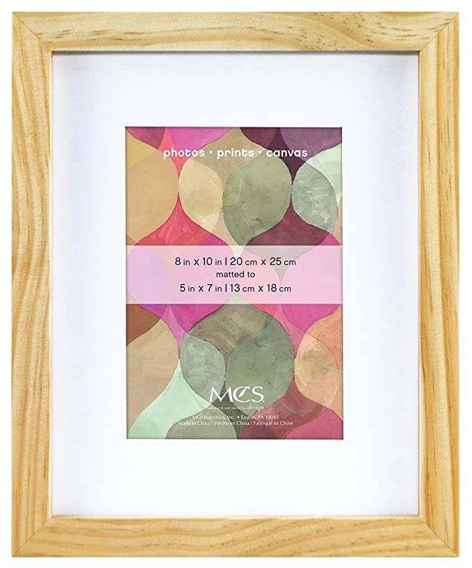 Amazon.com: MCS 8x10 Inch Art Frame with 5x7 Inch Mat Opening ...