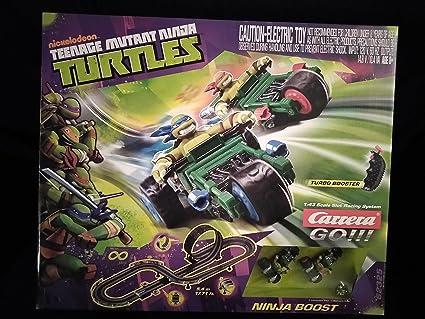 Nickelodeon Teenage Mutant Ninja Turtles Ninja Boost Turbo Booster 1:43 Scale Slot Racing System