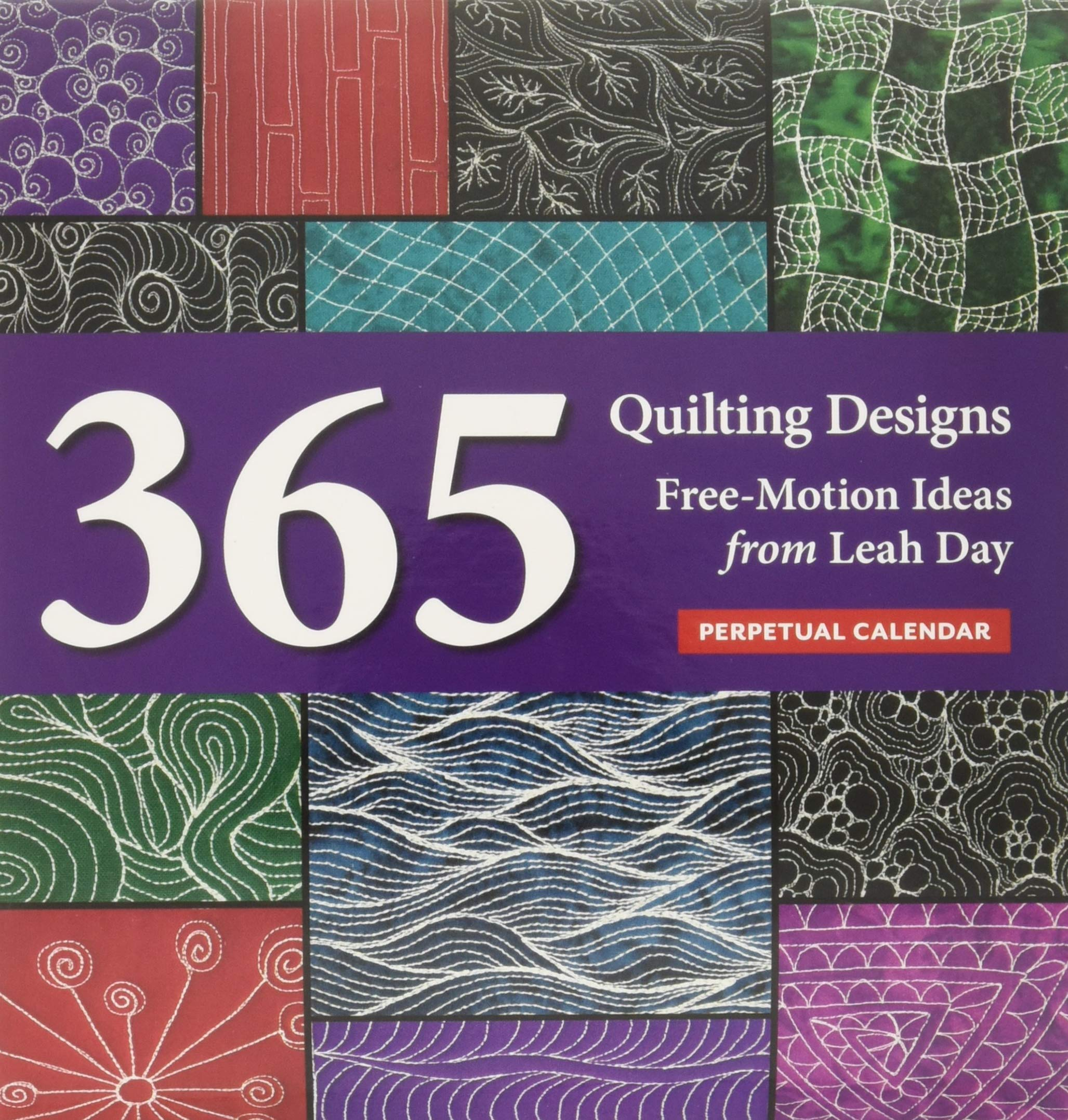 graphic relating to Free Printable Machine Quilting Designs identify Quilting Programs Perpetual Calendar: 365 Absolutely free-Movement Options