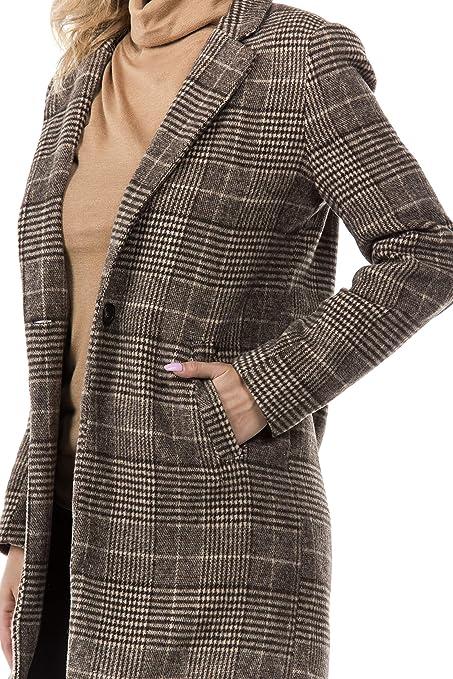 Womens Plaid Blazer Jacket at Amazon Womens Clothing store