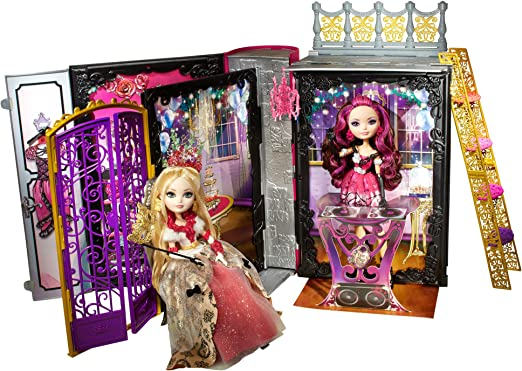 Amazon Com Ever After High Thronecoming Briar Beauty Doll And Furniture Set Toys Games