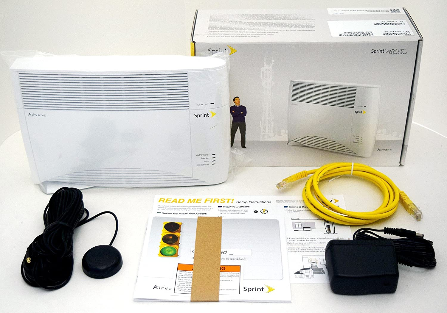 amazon com airave airvana version 2 sprint access point cellphone rh amazon com sprint airave setup with router Sprint Magic Box