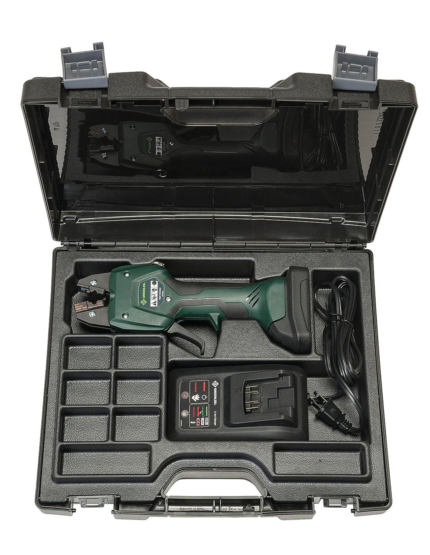 Greenlee ek50ml13811 Micro Kit de herramienta de prensa con 13,8 mm mandíbula, 110 V: Amazon.es: Bricolaje y herramientas