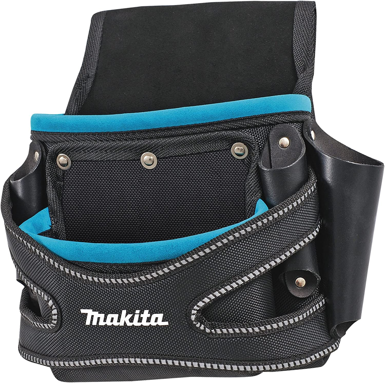 Makita P-71750 2 Pocket Fixings Nail Screw Tool Belt Pouch Holder New Blue Range
