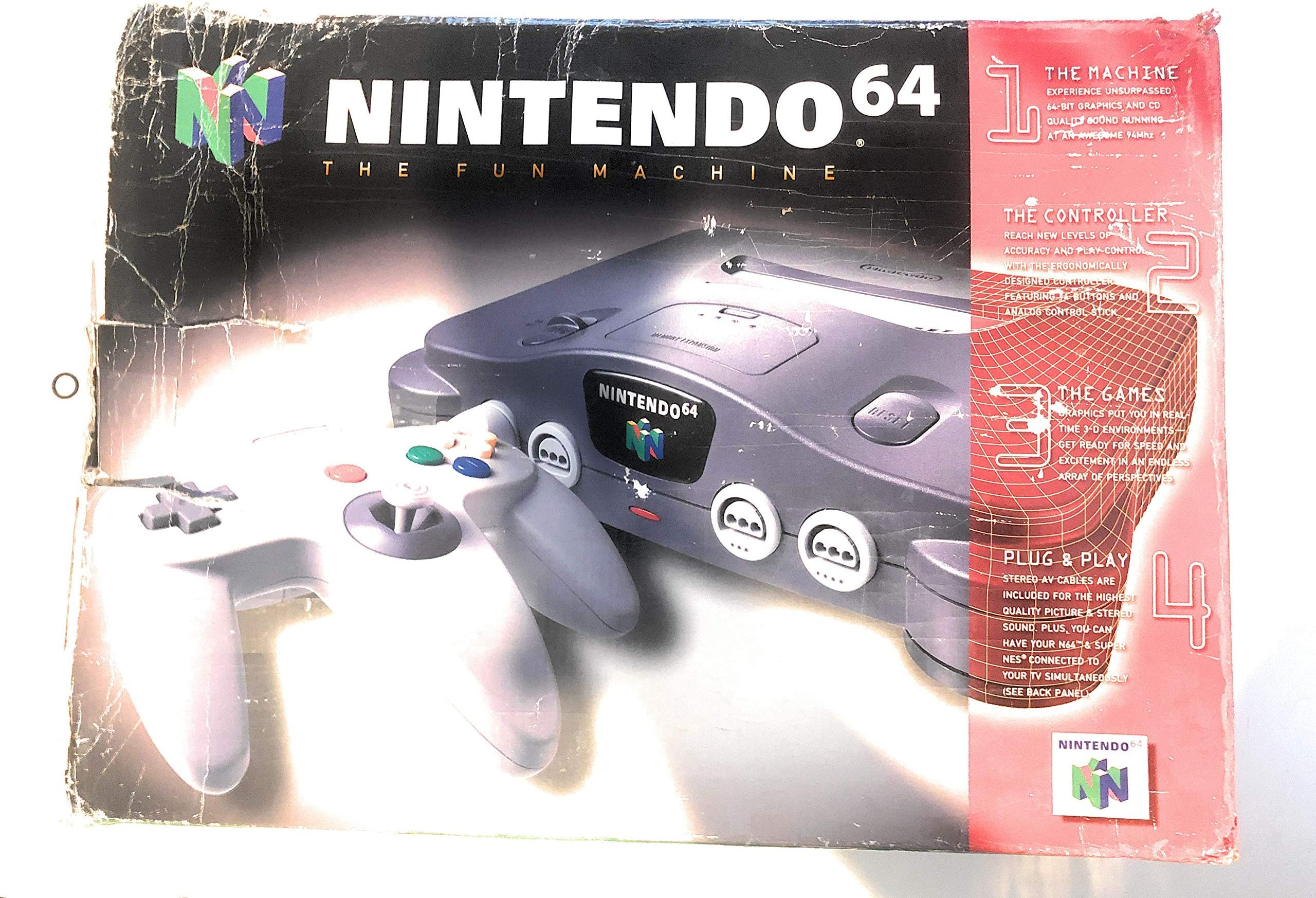 amazon com nintendo 64 system video game console unknown videoWii Adapter Likewise Nintendo 64 Controller Button Layout Besides N64 #14