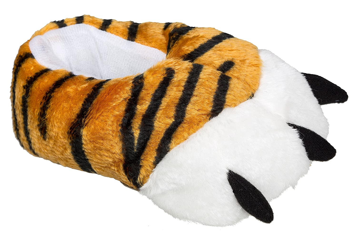 'Gibra Animal Slippers TIGER For Children Thick Lined, Size: 28/29/34/35