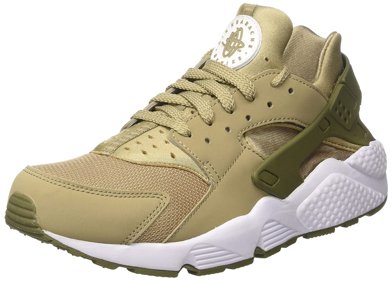 quality design d1589 b2e71 Nike 318429-200 Men AIR Huarache Khaki Medium Olive White Buy Online at  Low Prices in India - Amazon.in