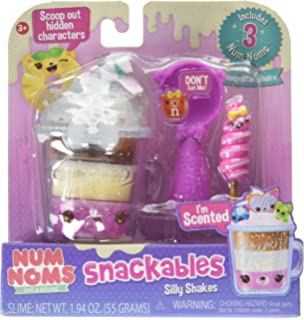 Amazon Com Num Noms Snackables Silly Shakes Maker Playset Toys Games