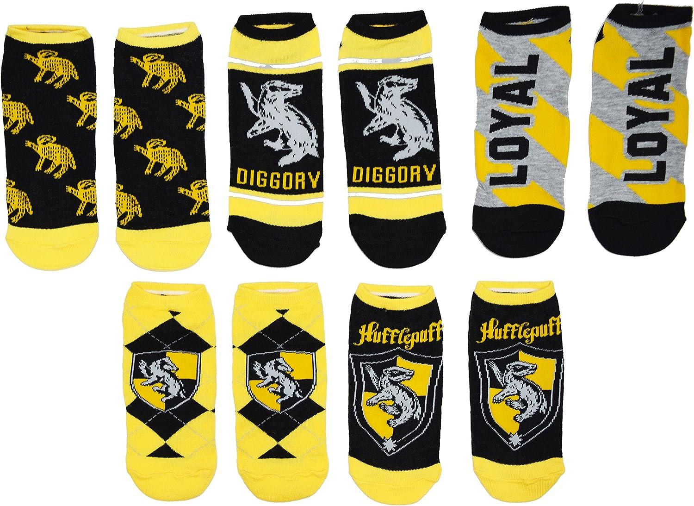 Harry Potter Houses White Ankle Socks 5 Pack