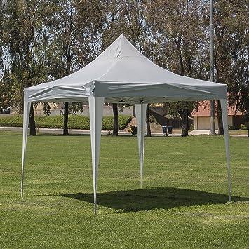 Amazon.com : Belleze Premium 10 x 10-feet Pop Up Canopy Tent Gazebo ...
