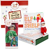 The Elf on the Shelf Gift Set: Elf Boy With Jingle Jam Hoodie - Direct From the North Pole In Specialty Gift Box