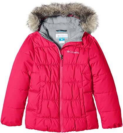 Columbia Girls GYROSLOPE Jacket-Punch Pink XL