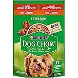 NESTLÉ PURINA DOG CHOW Ração Úmida para Cães Adultos Raças Pequenas Carne ao Molho 100g