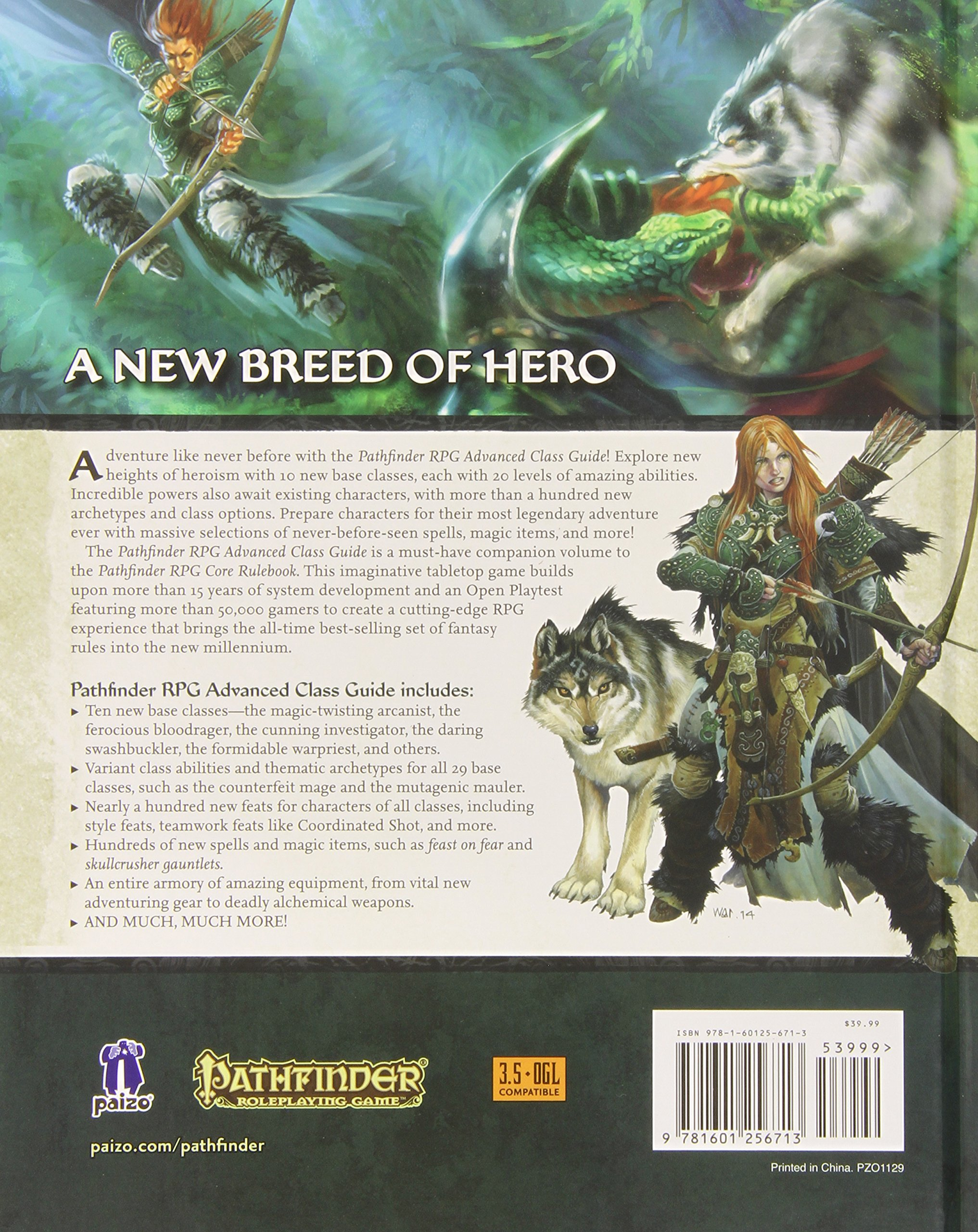 Pathfinder RPG: Advanced Class Guide (Pathfinder Adventure