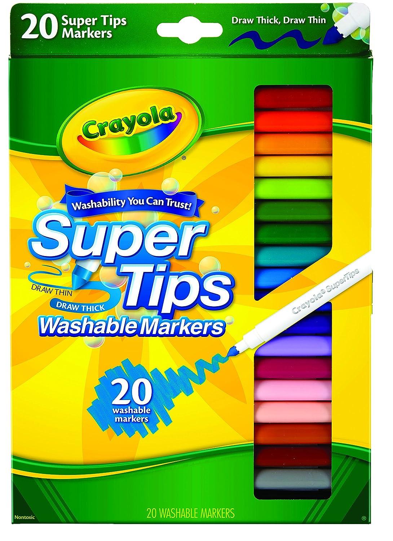 Easter Basket Stuffers Supertips Easter Gifting Crayola 20 Super Tips Washable Markers