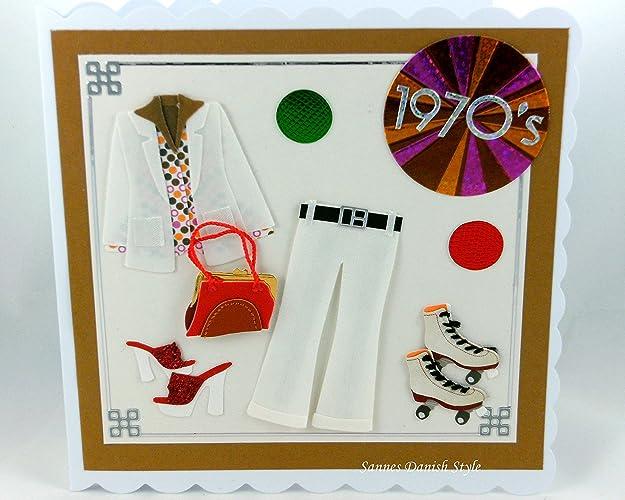 Geburtstagskarte 70er Jahre: Amazon.de: Handmade