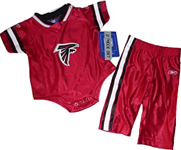 new styles a5a88 0fcc7 Amazon.com: Atlanta Falcons Jersey Shirt with Pants Baby ...
