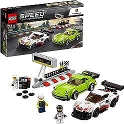 LEGO Speed Champions - Porsche 911 RSR y 911 Turbo 3.0 (75888)