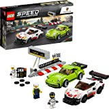 LEGO Speed Champions Porsche 911 RSR and 911 Turbo 3.0 75888 Playset Toy