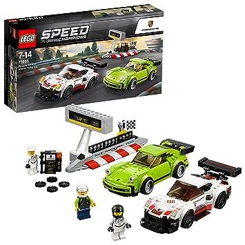 super quality pre order new photos LEGO Speed Champions - Porsche 911 RSR et 911 Turbo 3.0 - 75888 - Jeu de  Construction