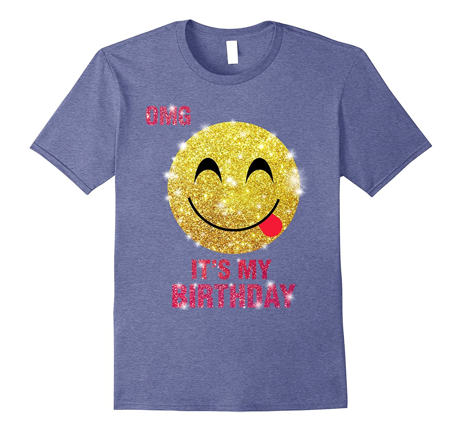 Its My Birthday Emoji Shirt For Girls And Kids BN