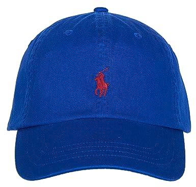Ralph Lauren Polo - Gorra de béisbol para Hombre Blau (050) Talla ...