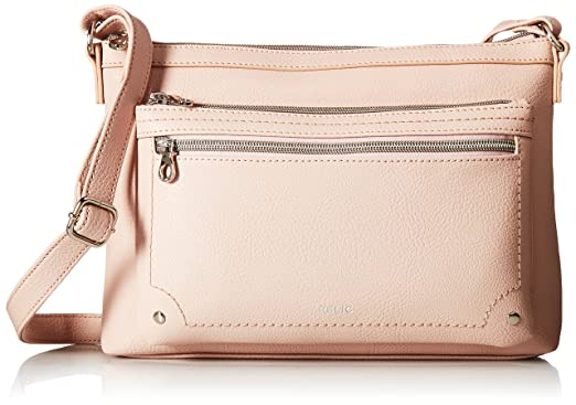 38a60262c145 Amazon.com  Relic by Fossil Relic Evie EW Crossbody Bag Blush  Clothing