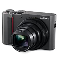 PANASONIC LUMIX ZS200 15X Leica DC Lens Stabilization, 20.1 Megapixel, Large 1 inch Low Light Sensor (DC-ZS200S USA Silver)