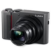 PANASONIC LUMIX ZS200 15X Leica DC Lens with Stabilization, 20.1 Megapixel, Large 1 inch Low Light Sensor (DC-ZS200S USA Silver)