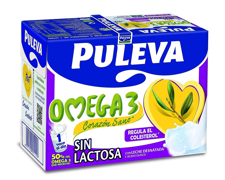 Puleva Omega 3 sin Lactosa - Pack 6 x 1 L - Total: 6 L: Amazon.es: Amazon Pantry