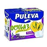 Puleva Leche Omega 3 sin Lactosa - Pack 6 x 1 L - Total: 6 L