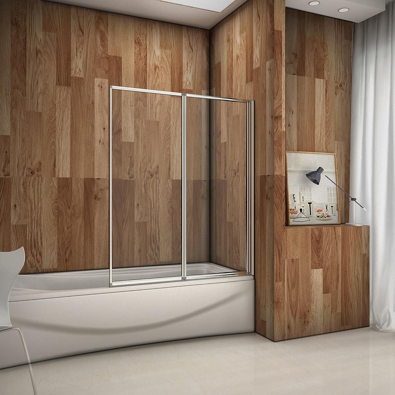 Aica Italy - Mampara plegable de 2 puertas para cabina de ducha ...