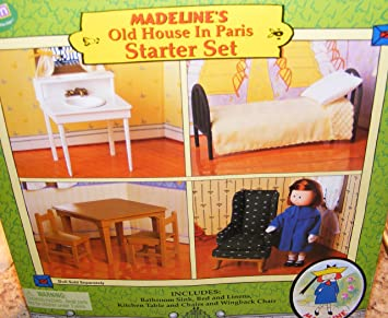 Madeline Dollhouse Furniture Starter Set