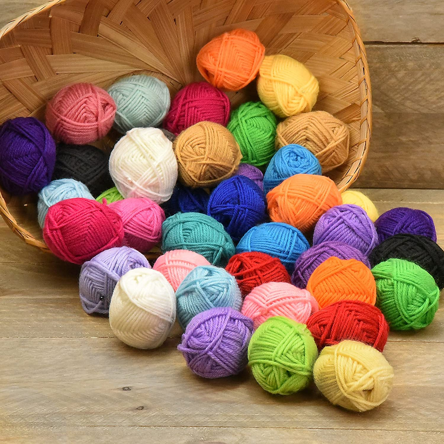 40 Skein of Yarns for your crochet project available at AMAZON