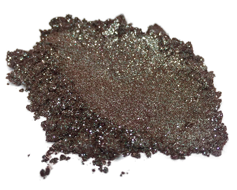 42g/1.5ozDiamond Kiwi Mica Powder Pigment (Epoxy, Paint, Color, Art) Black Diamond Pigments