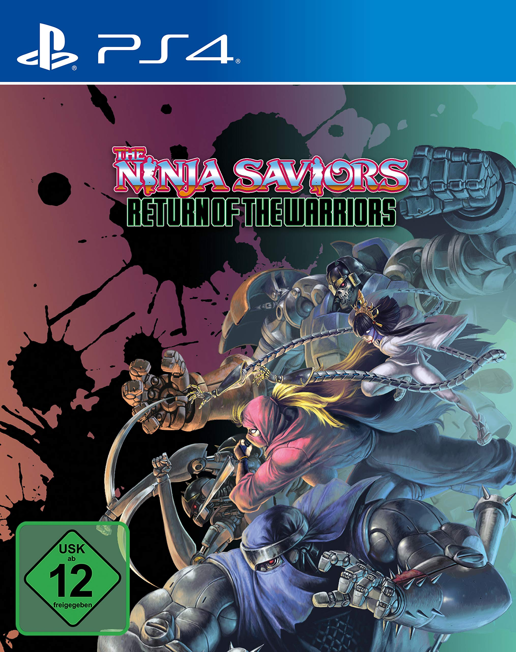 The Ninja Saviors Return of the Warriors - Ninja Art Edition ...