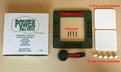 patch hole in drywall kit